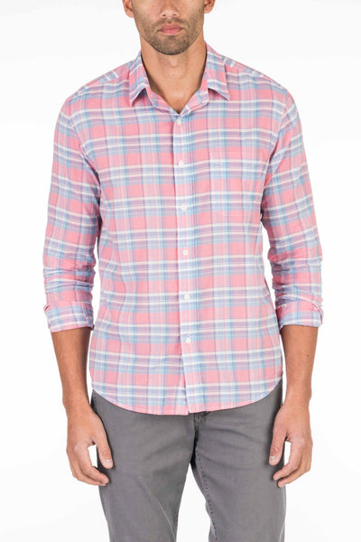 Summer Blend Shirt - Red Plaid