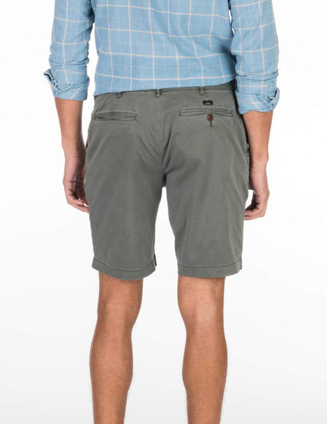 Stretch Chino Short - Charcoal