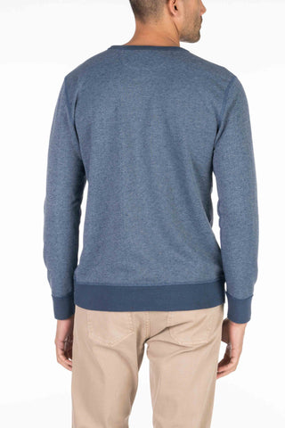 French Terry Crewneck - Navy