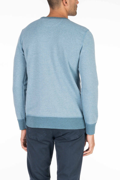 French Terry Crewneck - Blue