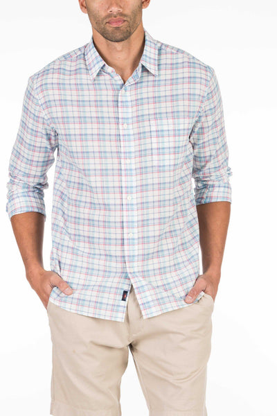 Summer Blend Shirt - White Plaid