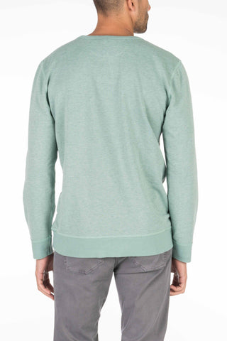 French Terry Crewneck - Spring Green