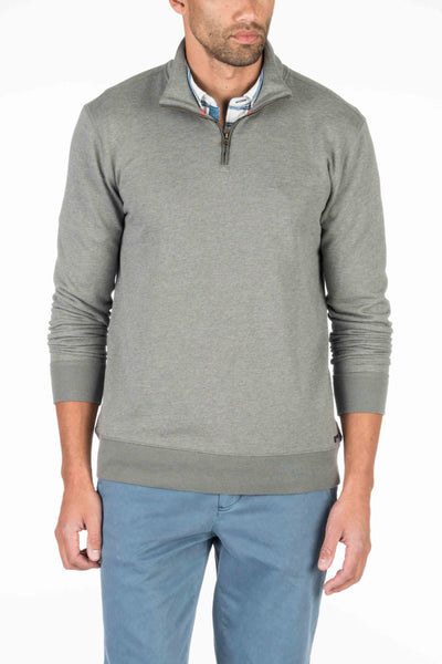 French Terry Pullover - Charcoal