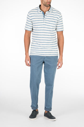 Stretch Chino Pant - Faded Navy