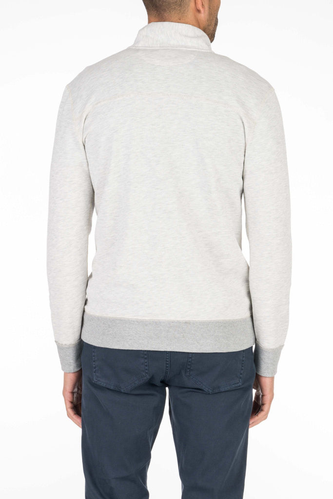 French Terry Pullover - Athletic Grey