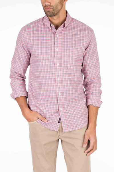 Laguna Sport Shirt - Rose Check