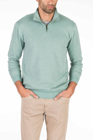 French Terry Pullover - Spring Green