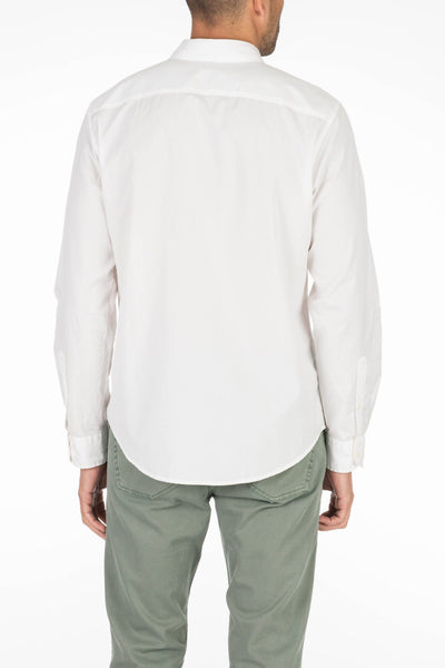 Garment Dyed Ventura Shirt  - White