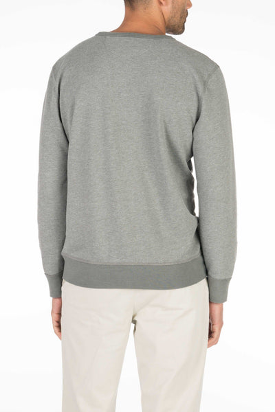 French Terry Crewneck - Charcoal