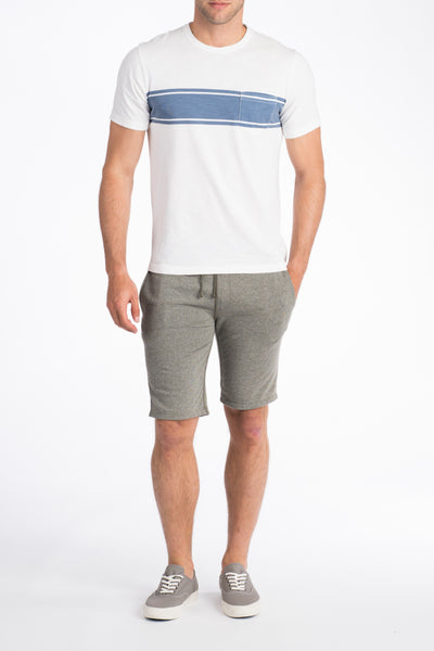 French Terry Sweatshort - Charcoal