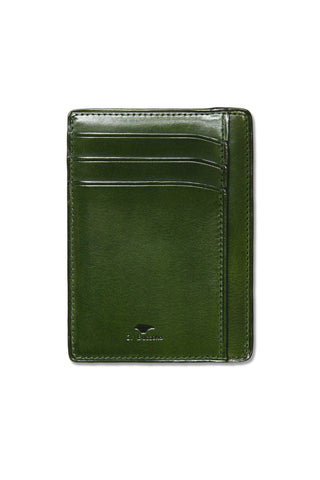 Il Bussetto Leather Card Case - Green