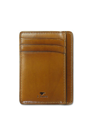Il Bussetto Leather Card Case - Light Brown