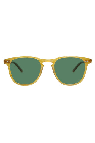 Garrett Leight Brooks Sunglasses - Butterscotch