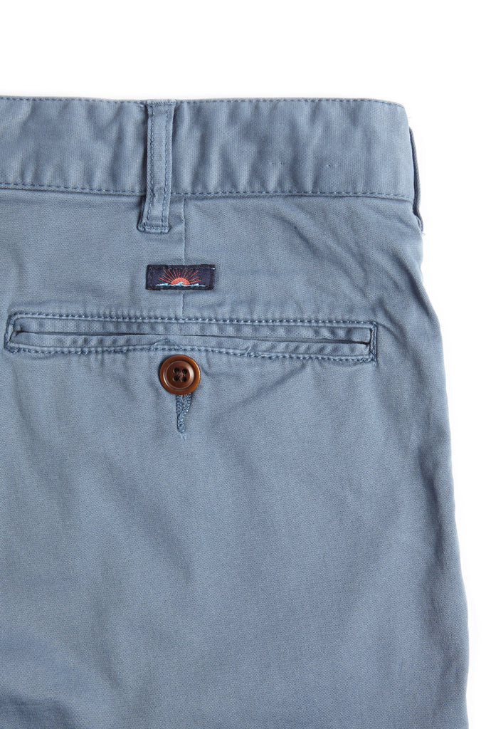 Stretch Chino Short - Faded Navy
