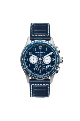 Jack Mason Chrono Watch - Navy
