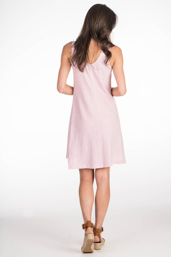 Palm Beach Dress - Blush