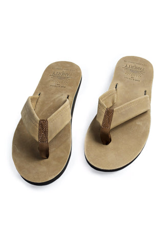 Faherty x Waltzing Matilda Men's Sandal - Medium Brown