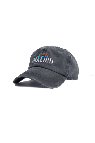 Malibu Wash Ball Cap - Black