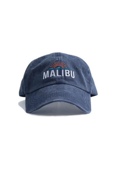 Malibu Wash Ball Cap - Navy