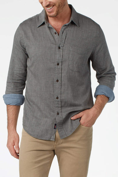Doublecloth Shirt -Charcoal