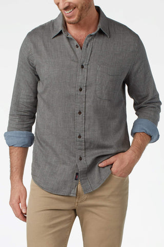Doublecloth Shirt - Charcoal