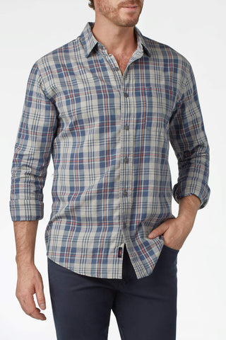Signature Washed Twill Shirt - Point Pleasant Plaid