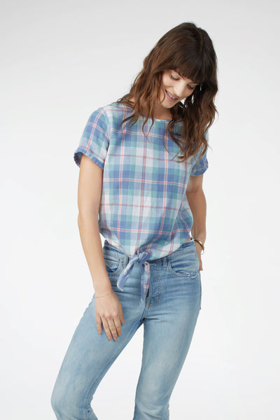 Reversible Brooke Top - Late Summer Plaid