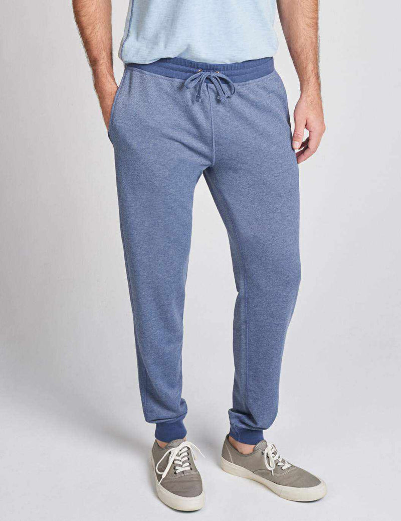 French Terry Joggers - Navy