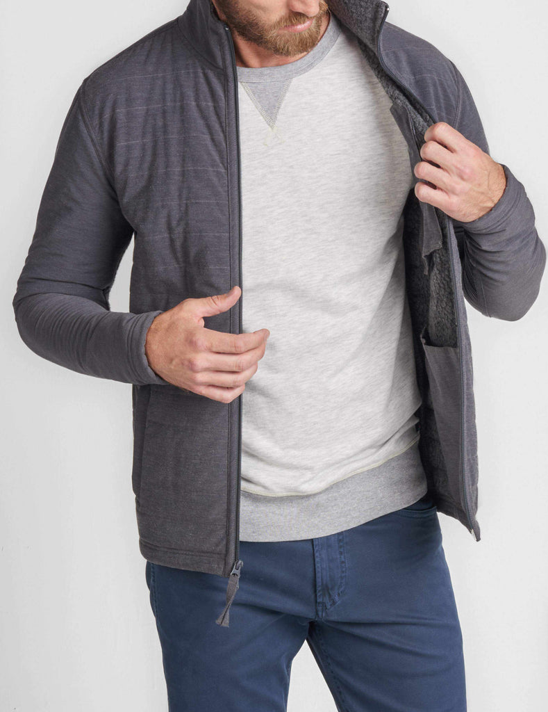 Stretch Transition Jacket - Charcoal
