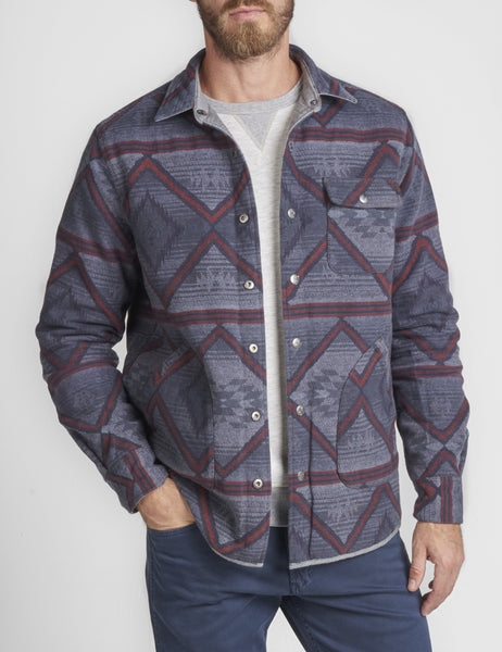 Reversible Chambray Bondi Jacket - Grey/Sunrise Beam