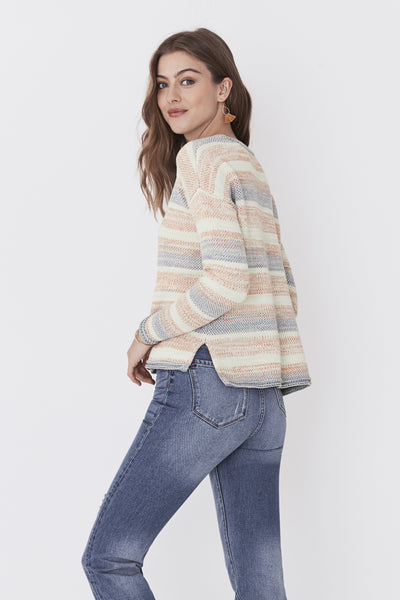 Key Largo Sweater - Ombre Serape