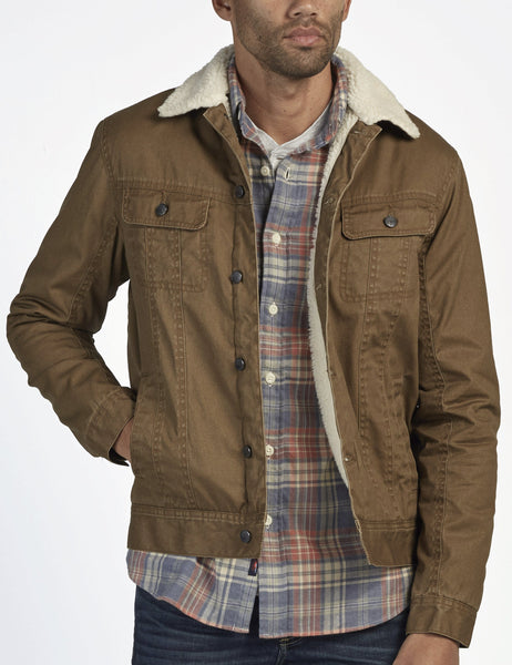 Waxed Cotton Sherpa Stormrider - Weir Brown