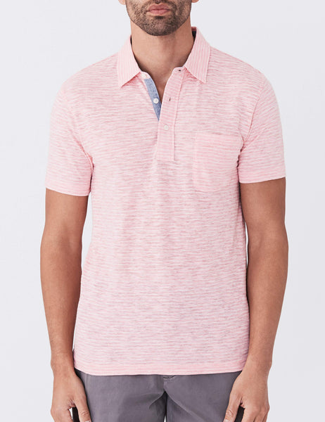 Salmon Stripe Heather