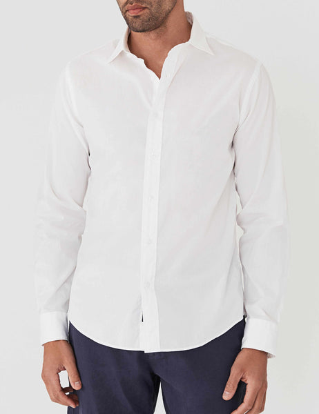 AMK Poplin Shirt - White