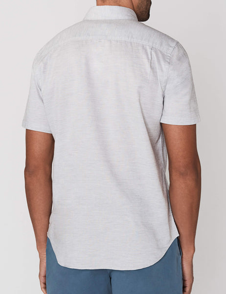 Short-Sleeve Ventura Shirt - Light Grey Heather