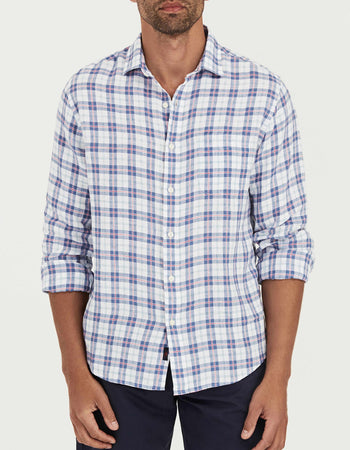 4c4acbee15 Washed Linen Shirt - Summer House Plaid ...