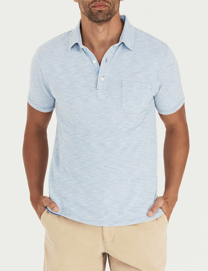 Bliss Polo - Light Wash