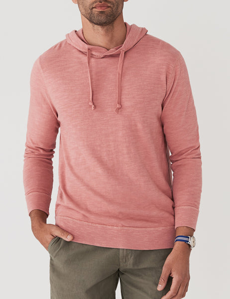 Slub Cotton Hoodie - Summer Red