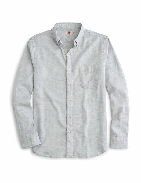 Oxford Button Down Shirt - Light Grey
