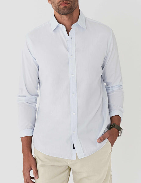 AMK Poplin Shirt - Light Blue