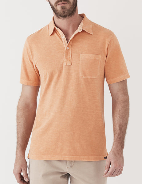 Sunwashed Polo - Vintage Apricot