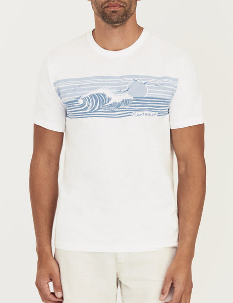 Nantucket Wave Print