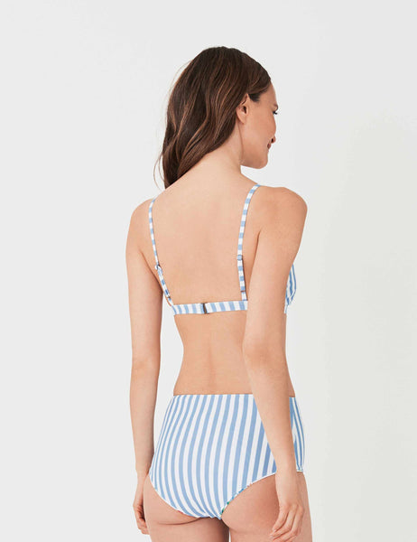 Capri Top - Seaside Stripe