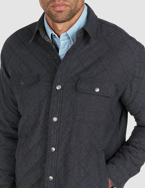 Reversible Bondi Jacket - Redwood Bluff/Charcoal Chambray