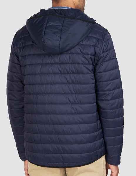 Atmosphere Hooded Jacket - Navy