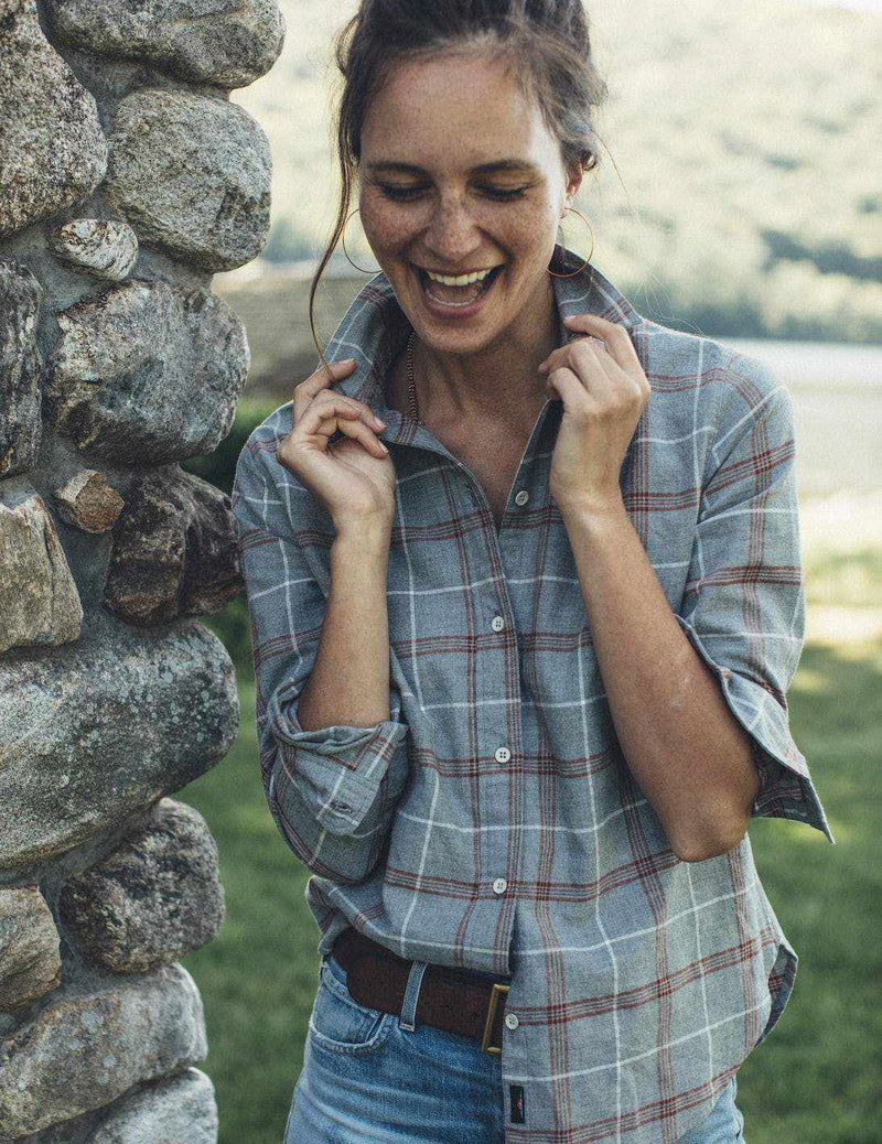 Malibu Shirt - Juliet Plaid