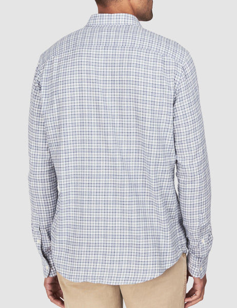 Ventura Shirt - Heather Grey Multi