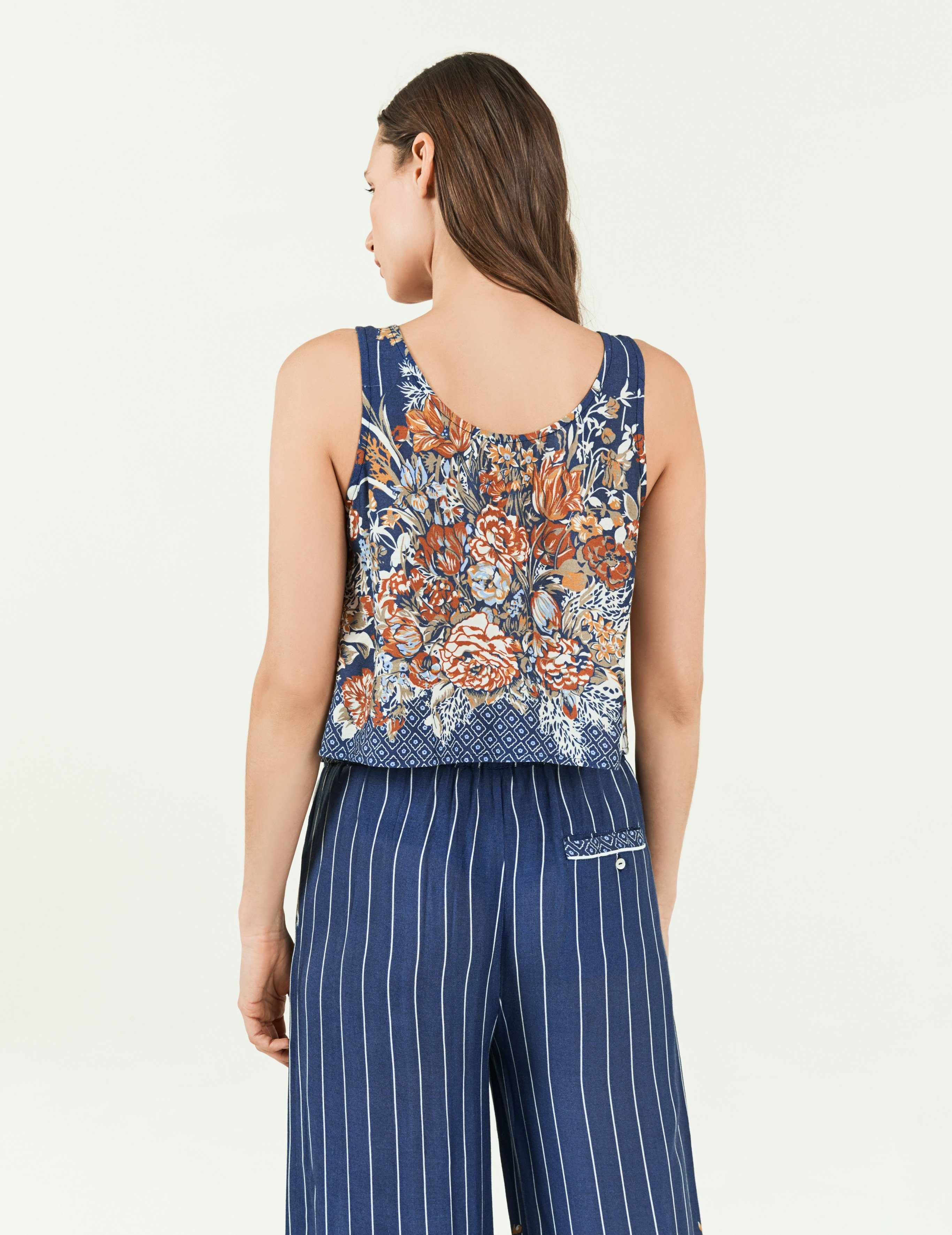 Willow Tank Top - Field Floral