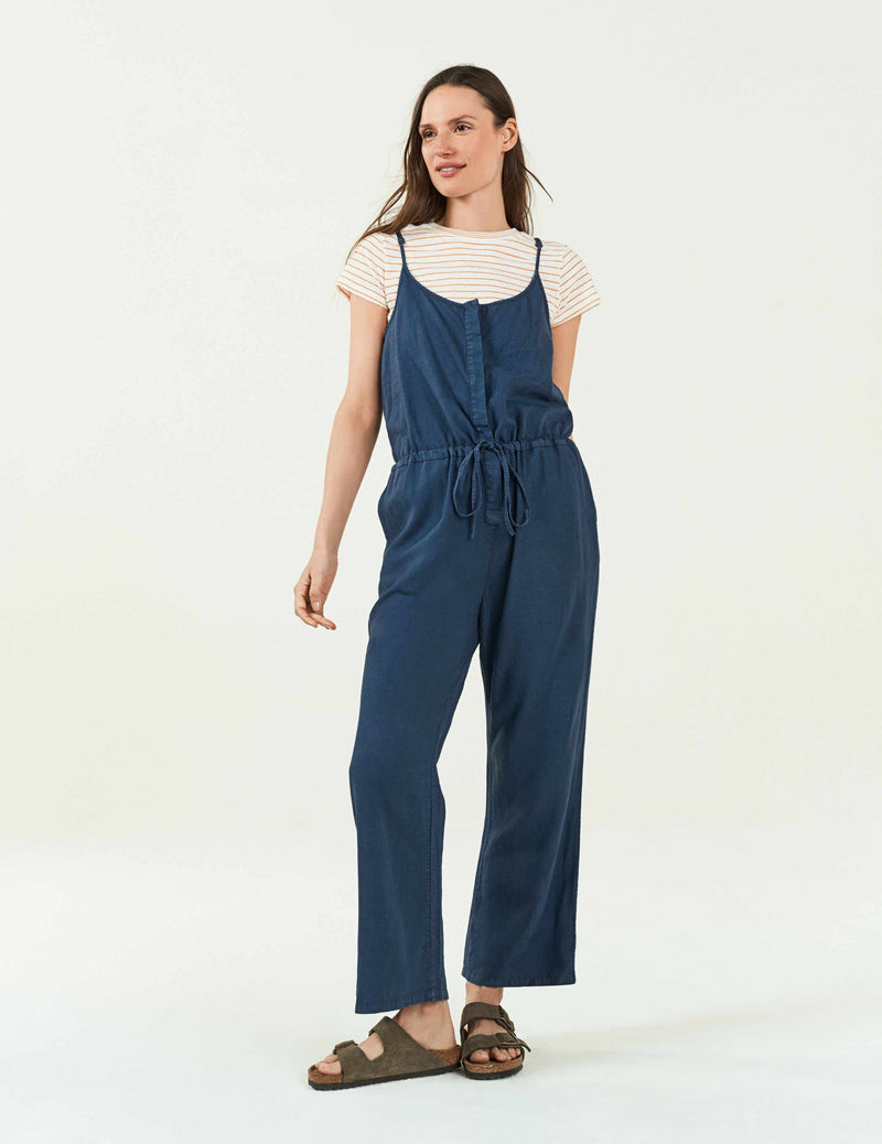 Leila Jumpsuit -Navy