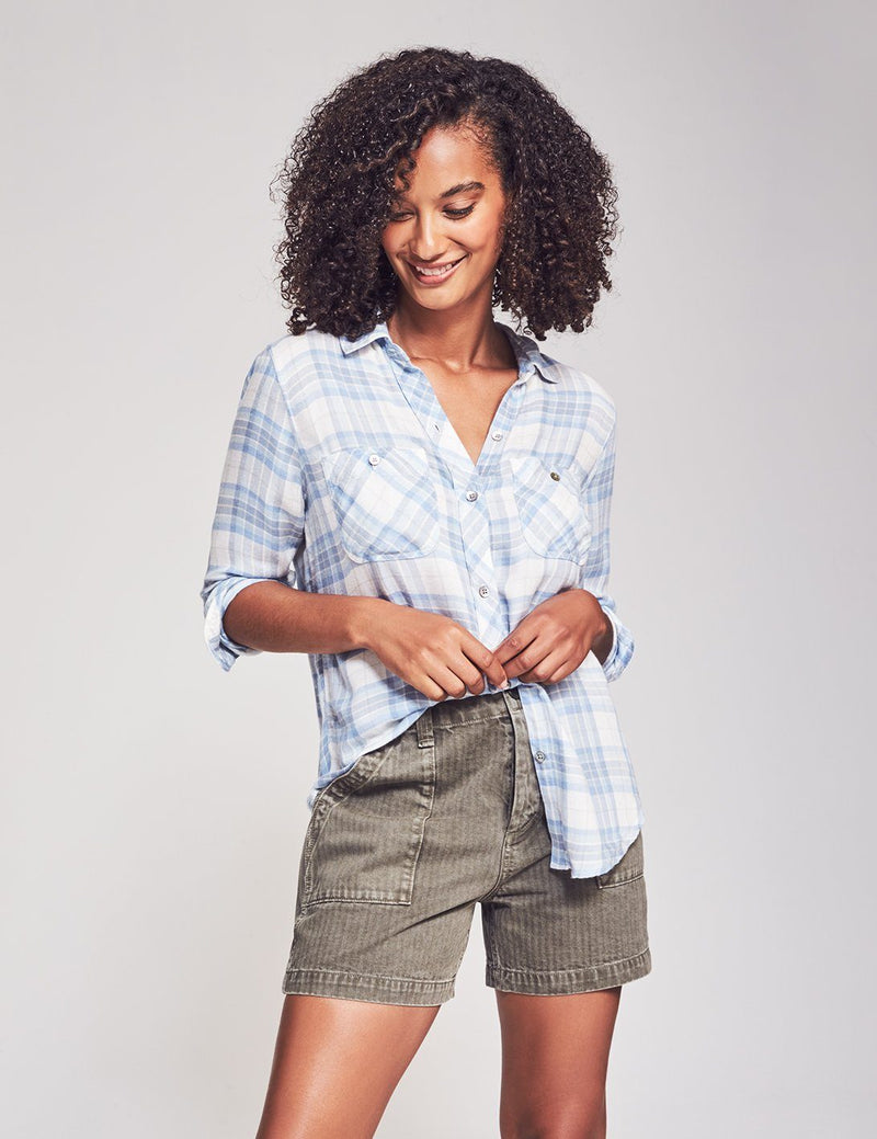 Malibu Shirt - Seaside Plaid